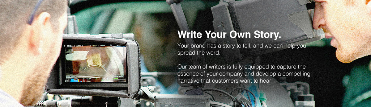 Write Your Own Story. Hero